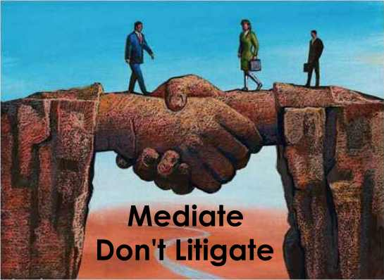 Mediation can save you thousands of Dollars.